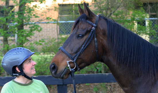 OTTB Lynn's Vision opens his eyes to a more exciting life after racing