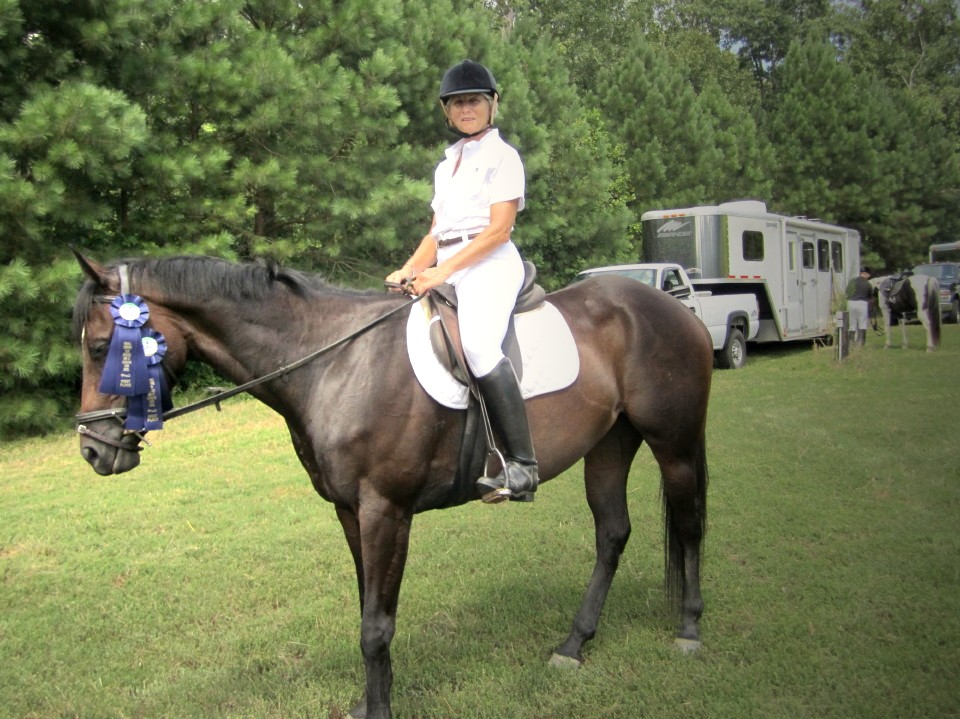 OTTB Imatexan wins five blue ribbons!