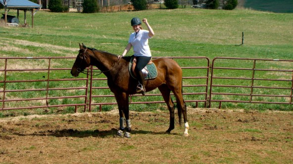 First Ride on Callie's Wright! Finally!