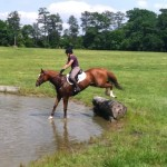 Breaking Free learning to jump cross-country fences